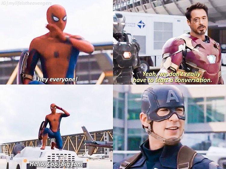 Who isn't a Cap fan? I love Steve's smile, he just loves his fans.