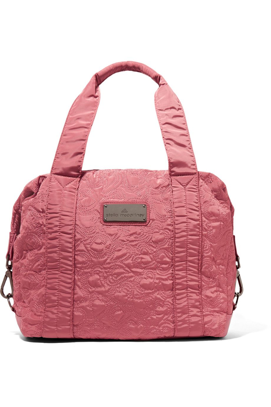 ADIDAS BY STELLA MCCARTNEY Embroidered Satin-Twill Tote.   adidasbystellamccartney  bags  shoulder bags  hand bags  tote   21c5506bd7