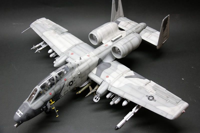 Trumpeter 1 32 A 10 N Aw Thunderbolt Ii Large Scale Planes Model Airplanes Model Planes Rc Model Airplanes