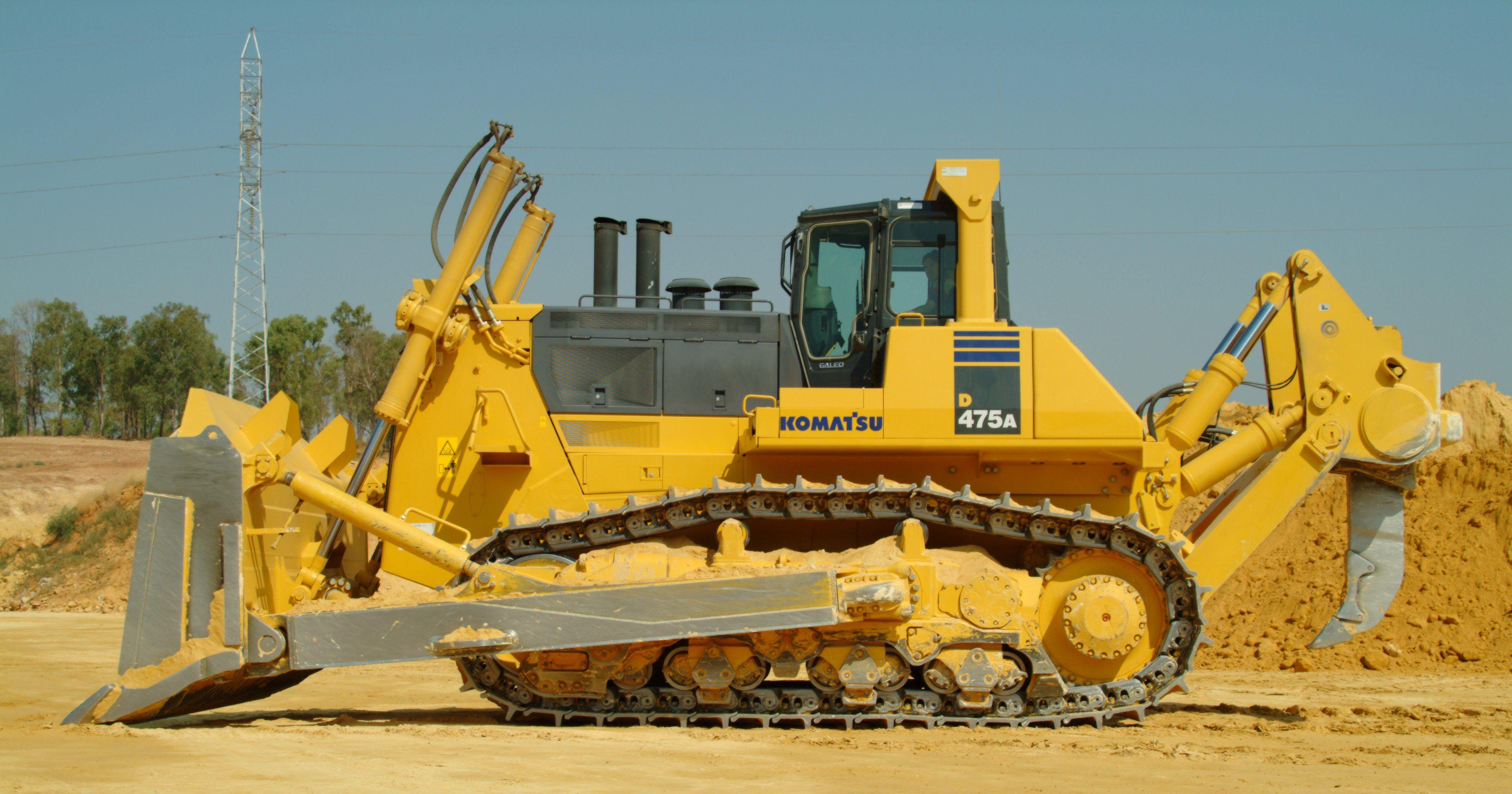 komatsu bulldozer hd wallpapers heavy equipment pinterest