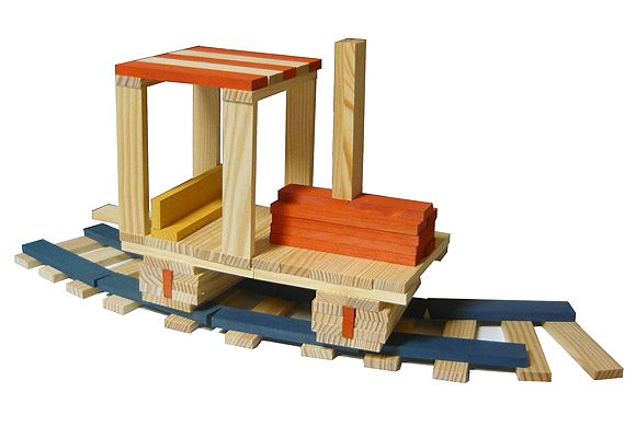 Kapla Building Blocks Ka Pla Transport Designs Simple Toys Tree House Kids Unique Toys