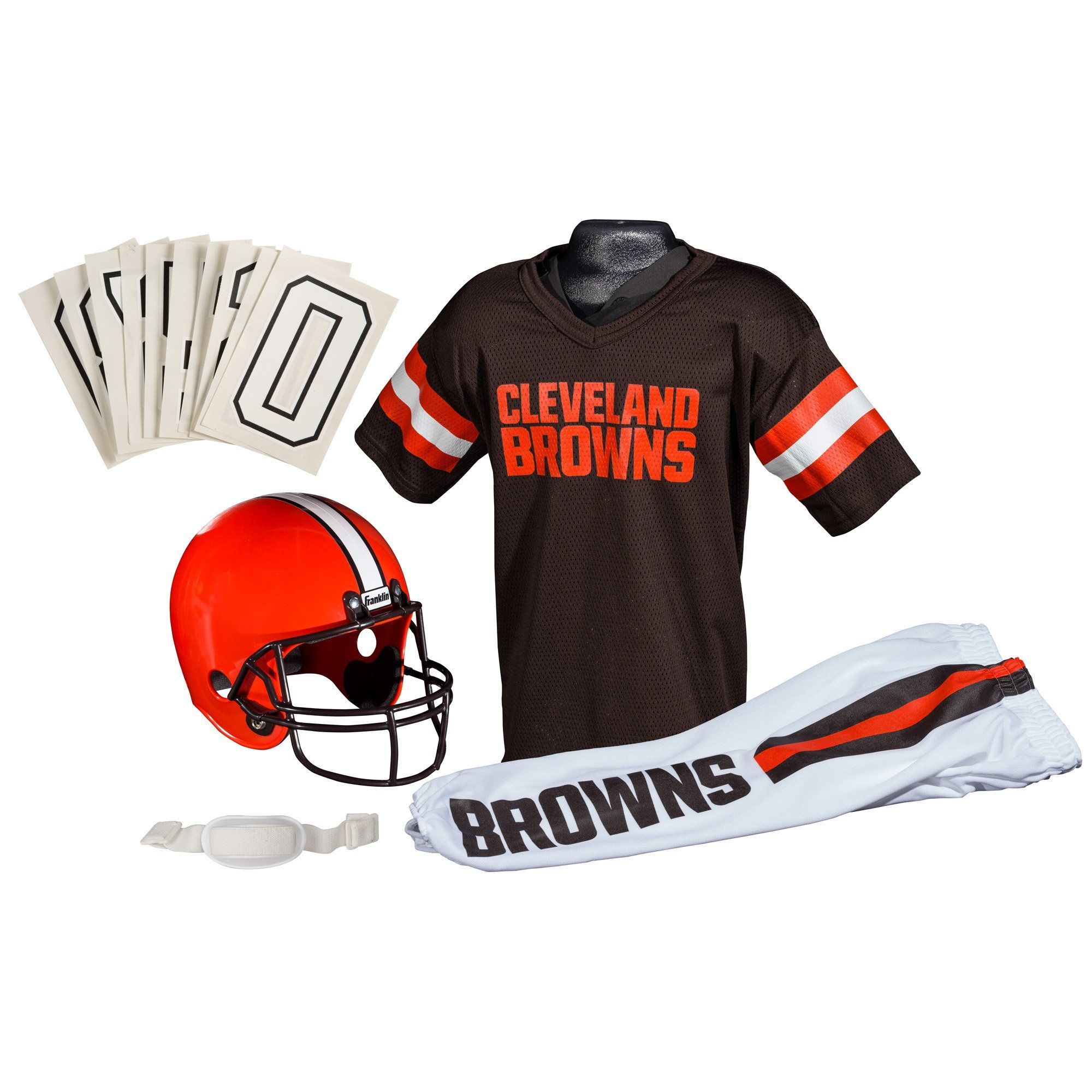 Franklin Sports NFL Cleveland Browns Deluxe
