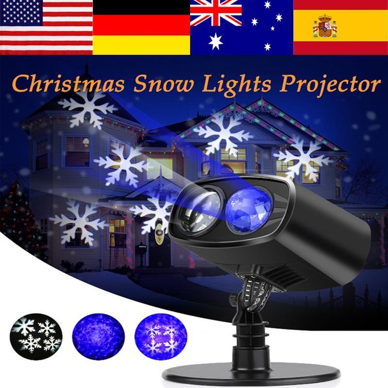LED Light Projector Moving Landscape LED Projector Light Christmas