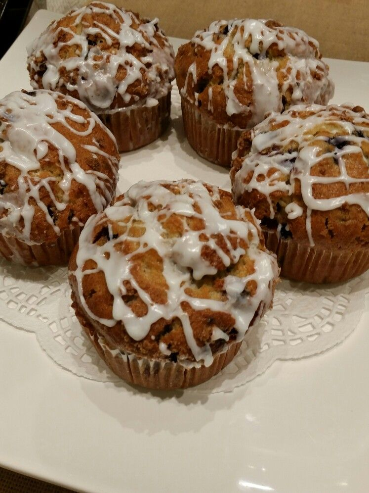 Warm Blueberry Muffins from our Lowes Foods Bakery. Best