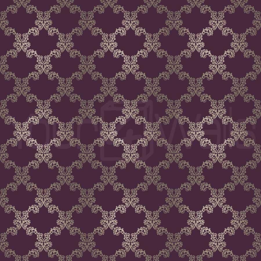 Royal 39 purple damask wallpaper images hosted at for Purple wallpaper for walls
