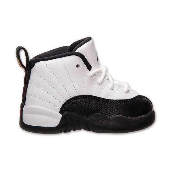 Boys' Toddler Air Jordan Retro 12 Basketball Shoes featuring polyvore