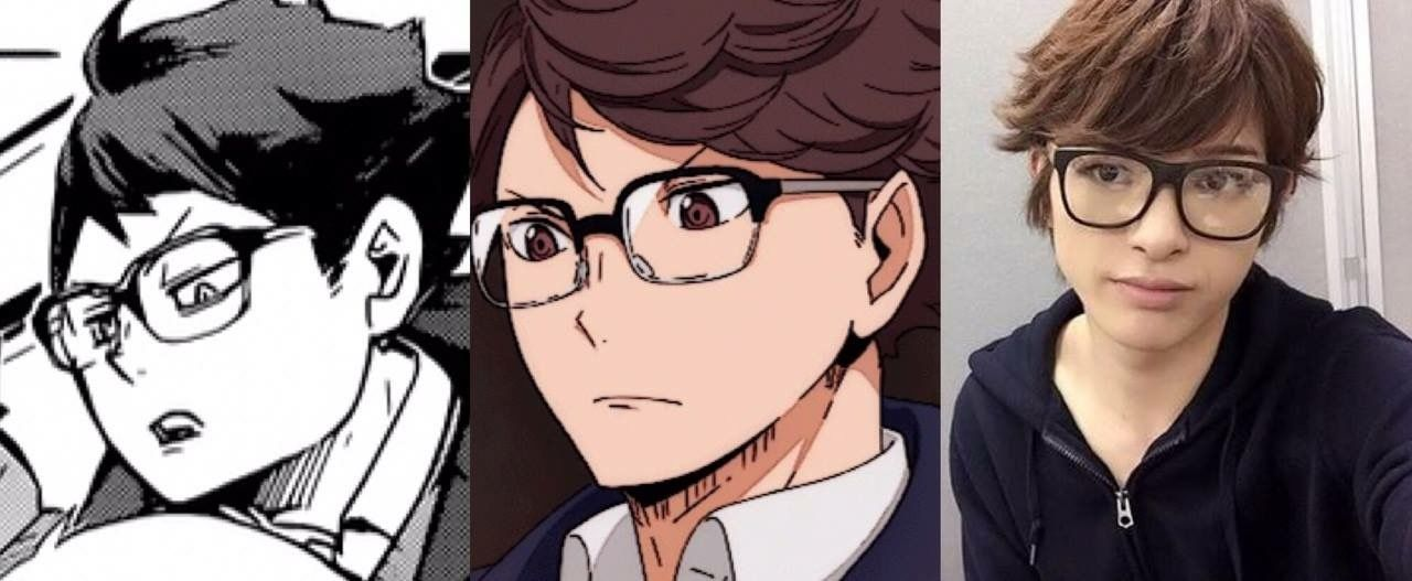 when ur cute in 3 different adaptations of the same character