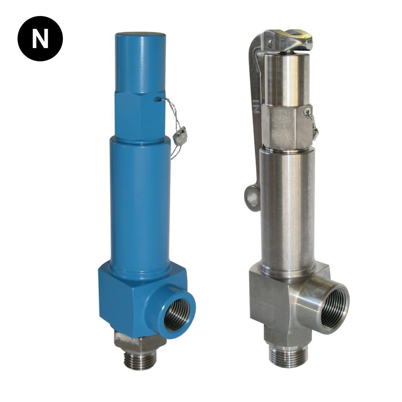 Niezgodka type 140 safety valve stainless steel