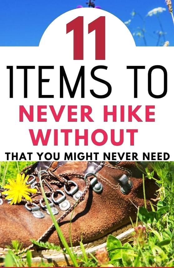 Photo of Its a challenge to pack for day hiking prepared for anything while still packing…