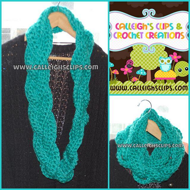 braided crochet cowl pattern | tejidos | Pinterest | Tejido ...