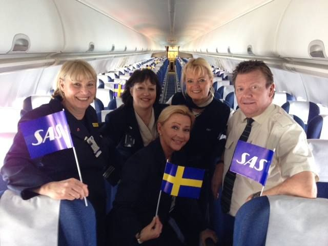 Go Sweden Go Sas Airlines Sas Cabin Crew
