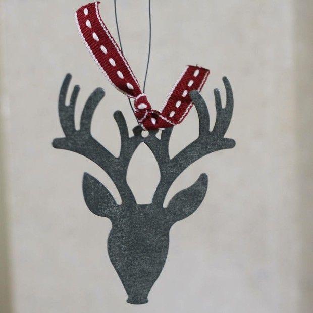 Rot Und Grau Für Die Weihnachtsdekoration Dieses Jahres