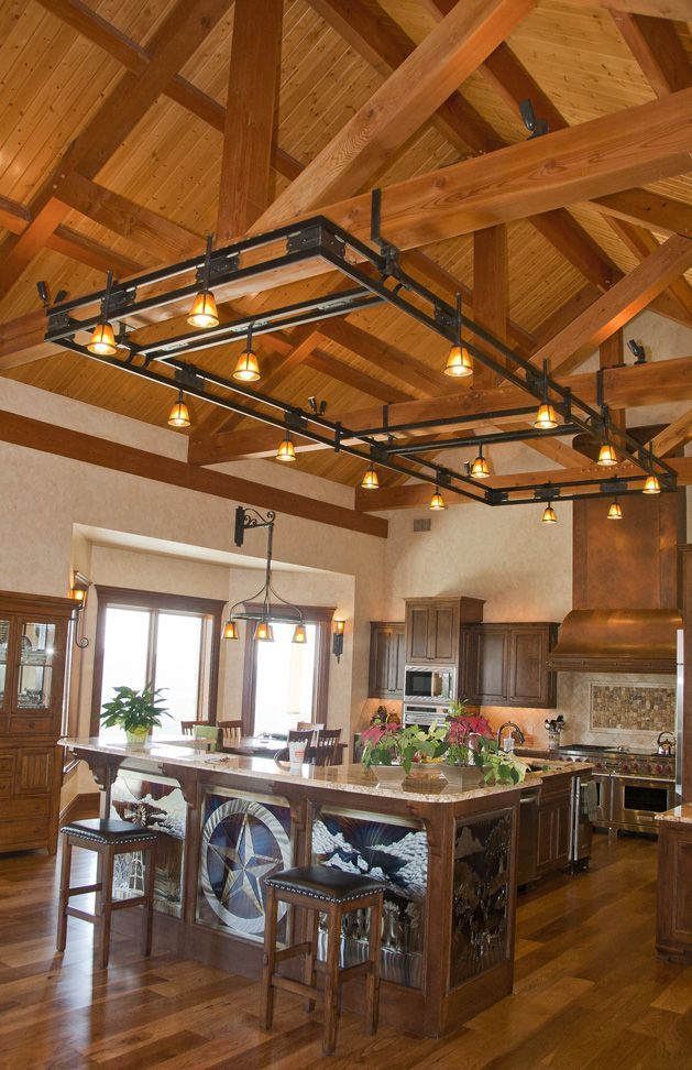 Compact Hybrid Timber Frame Home Design Photos Timber Home Living: Timber Frame Home - Hill Country Home Project