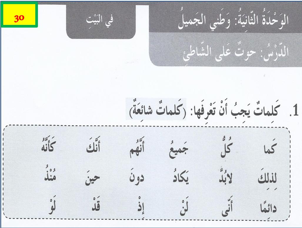 بوربوينت كتاب النشاط درس حوت على الشاطئ مع الاجابات للصف الخامس مادة اللغة العربية Words Math Word Search Puzzle