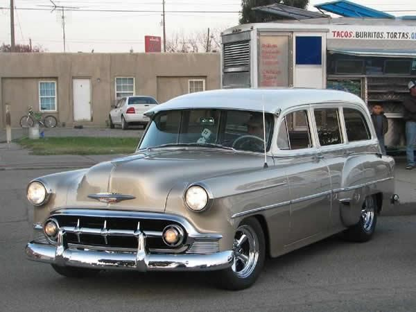 1953 Chevrolet Station Wagon Can T Decide If This Is A