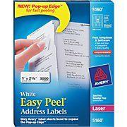 5160 Laser Address Labels