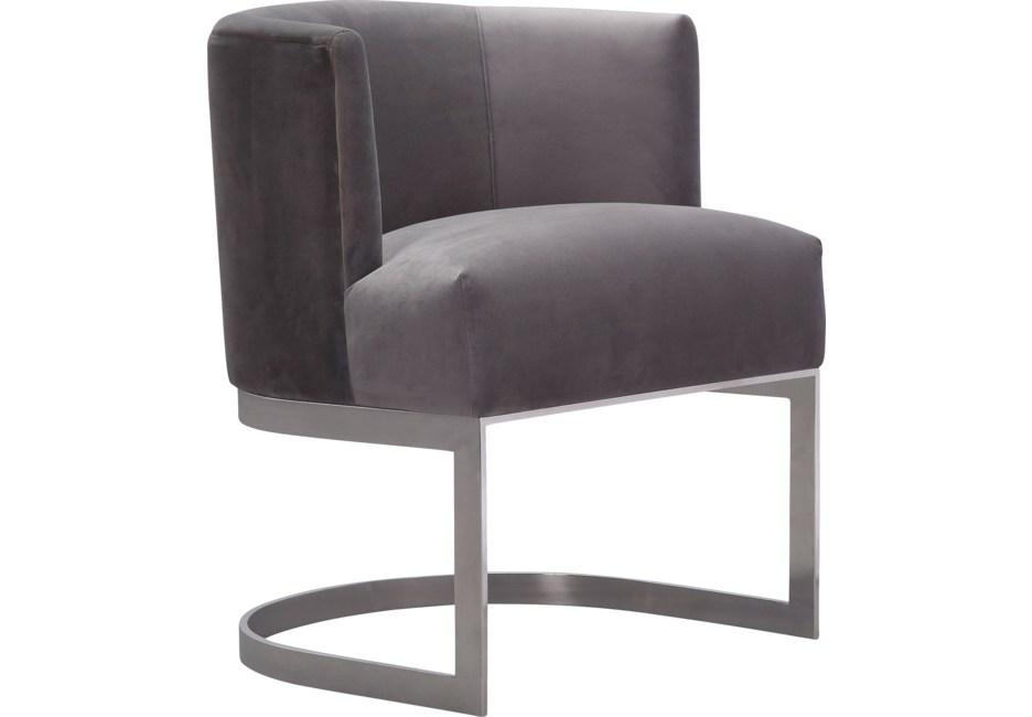 Eva Gray Accent Chair Accent Chairs For Living Room Chair Grey Accent Chair