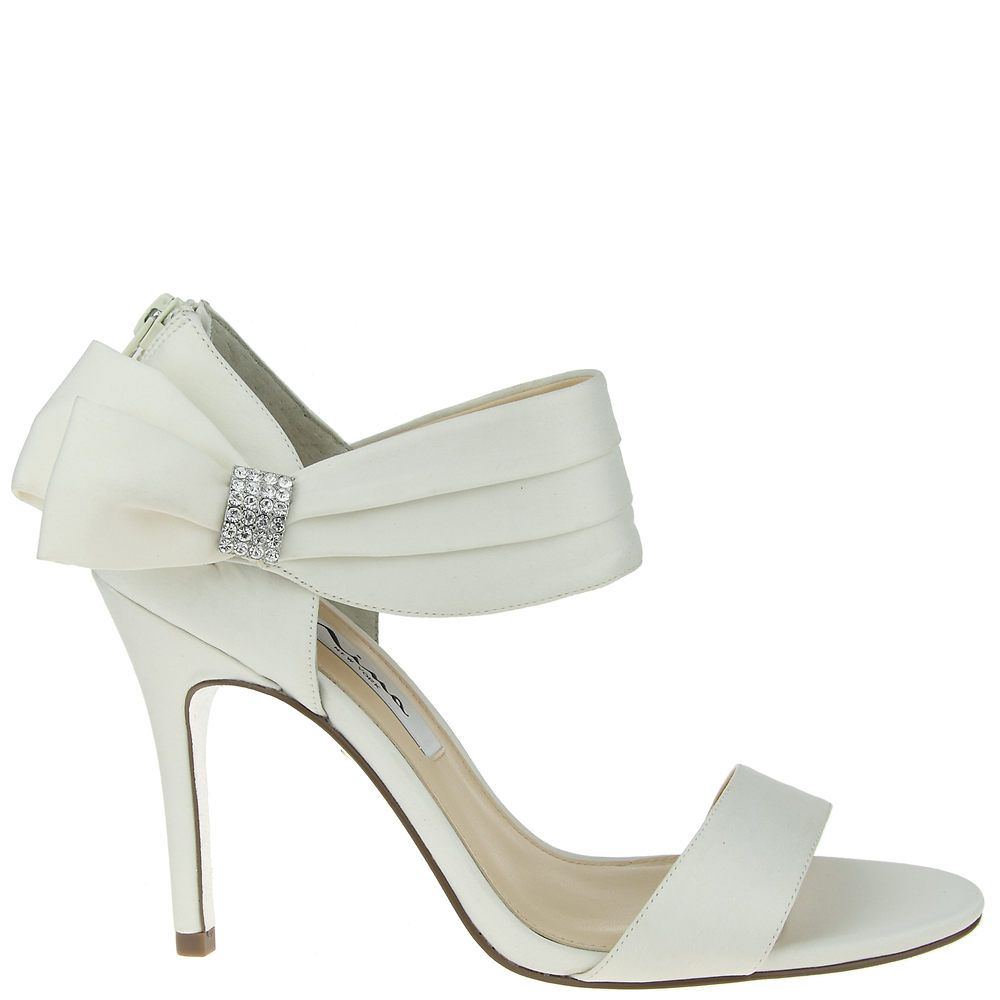 Nina COSMOS IVORY LUSTER SATIN by Nina Shoes
