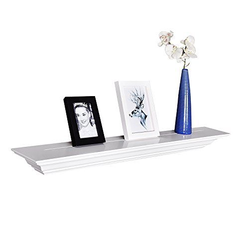 Welland Corona Crown Molding Wall Shelf 36inch White Click On The Image For Additional Details This Is An Aff Wall Molding Wall Shelves Wooden Wall Shelves