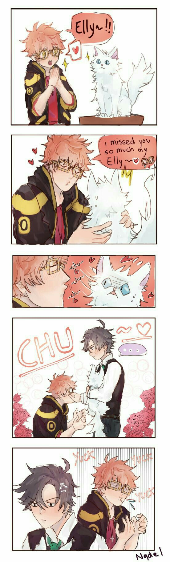 mystic messenger how to change time