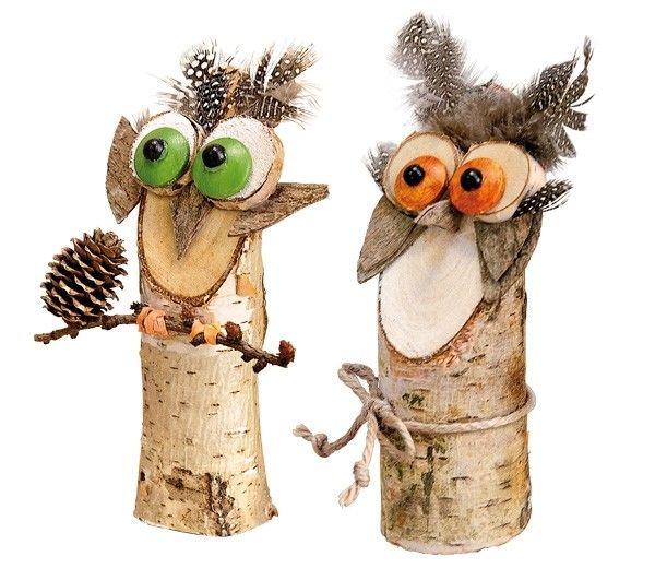 BRAUN Schulbedarf Birkenstämmchen - Holz 2018 #basteln in der grundschule #basteln in der schule #basteln im kindergarten #basteln in der kita #braunschulbedarf #werkunterricht #wtg #herbstdekoeingangsbereich