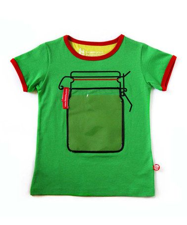 Green Jar Tee - Toddler & Kids by BeeeTú on #zulilyUK today!
