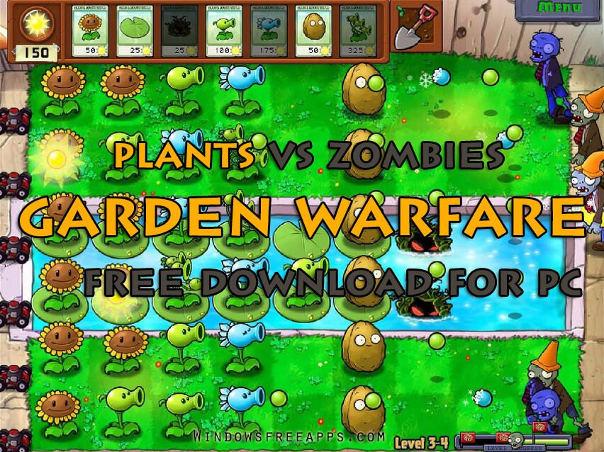 Vs garden warfare zombies free plants Plants vs.