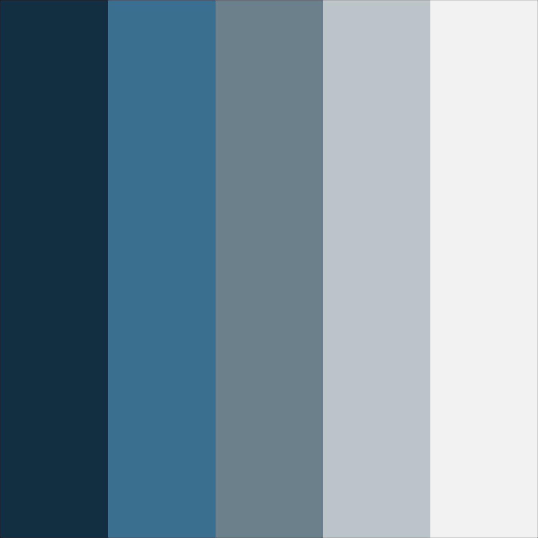 Silver Blue Color Scheme Schemes Colors Themes Palettes