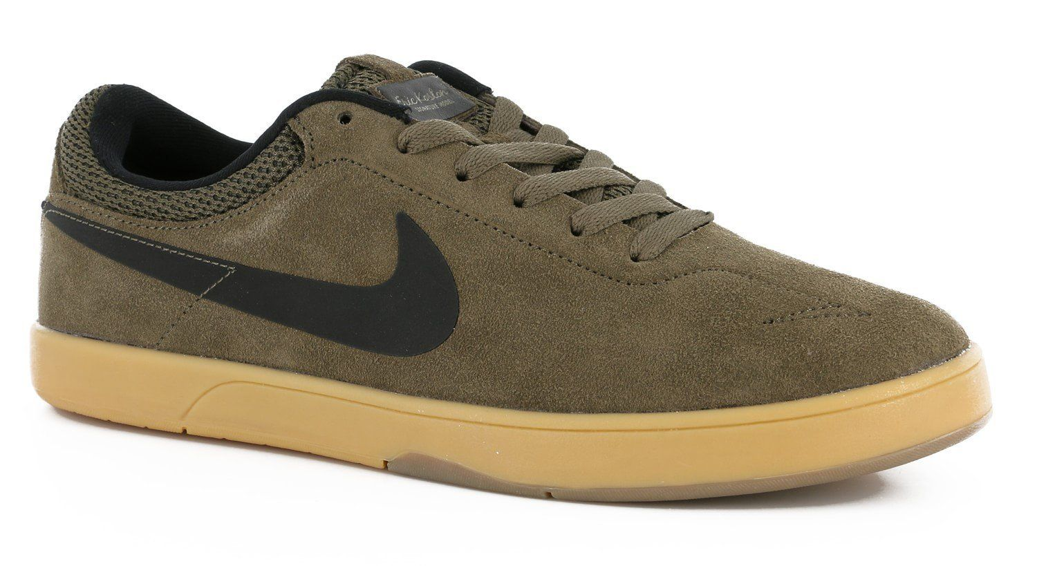 Nike Zoom Eric Koston Men s Skateboarding Shoe - Fieldstone Iron Black-Gum  Light Brown (10.5)  1ca63609dd