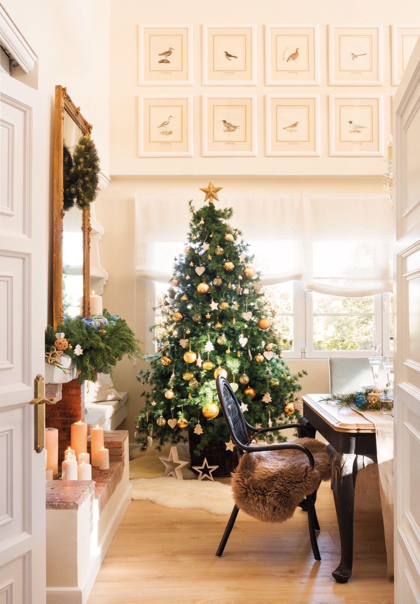 Navidad en casa de Lorenzo Meazza, responsable de interiorismo de ...