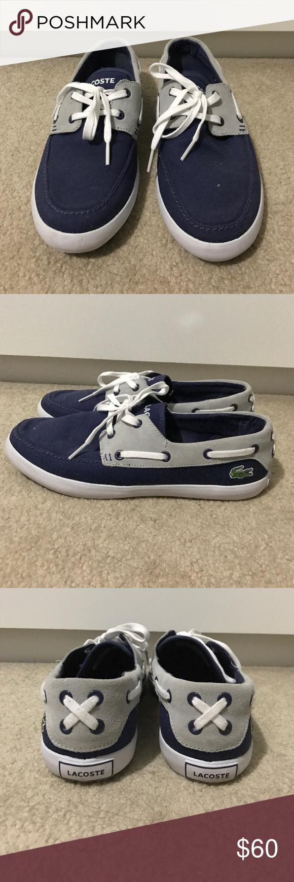 827f6333736c Lacoste Boat Shoes Women s Blue Lacoste boat shoes size 10. Worn once Lacoste  Shoes Flats   Loafers