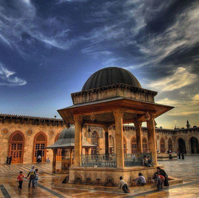 Syria before the war Umayyad mosque Damascus سوريا قبل الحرب