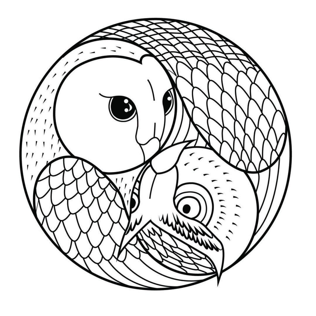 Mandalas For Kids Owl Coloring Pages Mandala Coloring Pages Mandala Coloring
