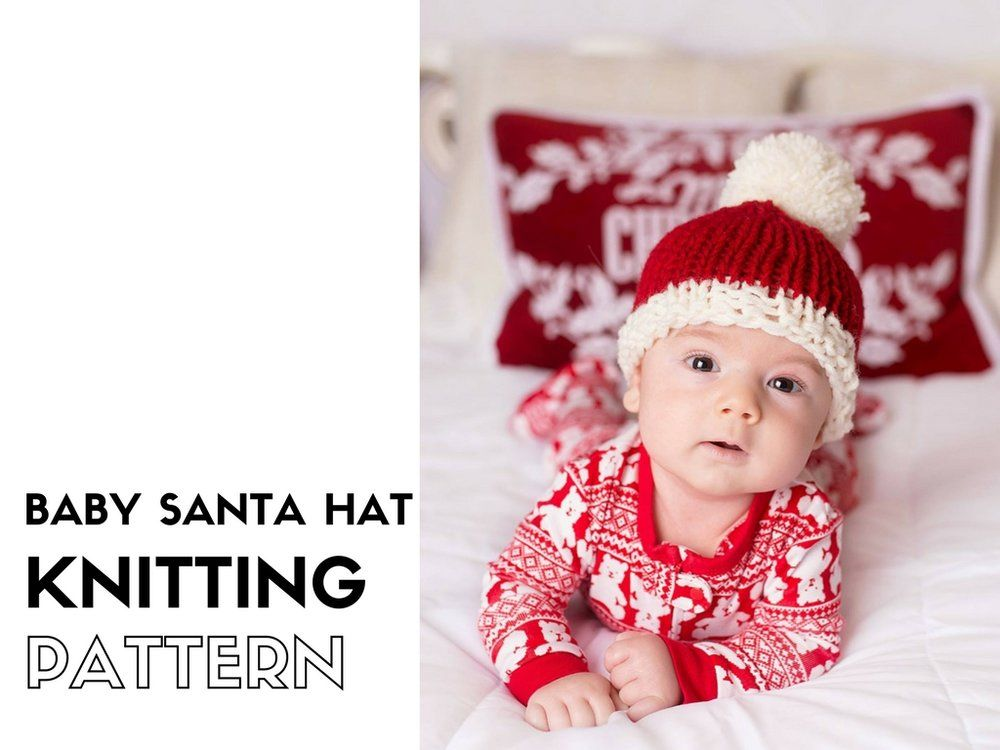 Childs Knitted Santa Hat Updates