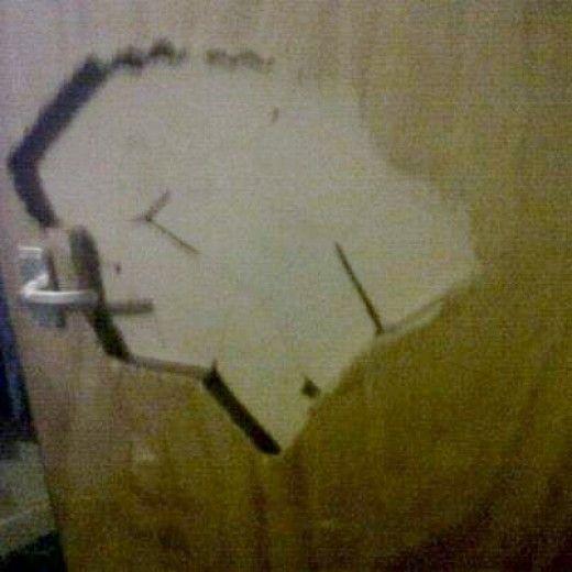 Photo of Hvordan billig reparere et hull i gips eller en tredør – #Cheaply #Door #Drywa …