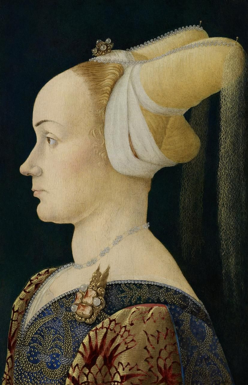 Portrait of a Florentine noblewoman by an unknown