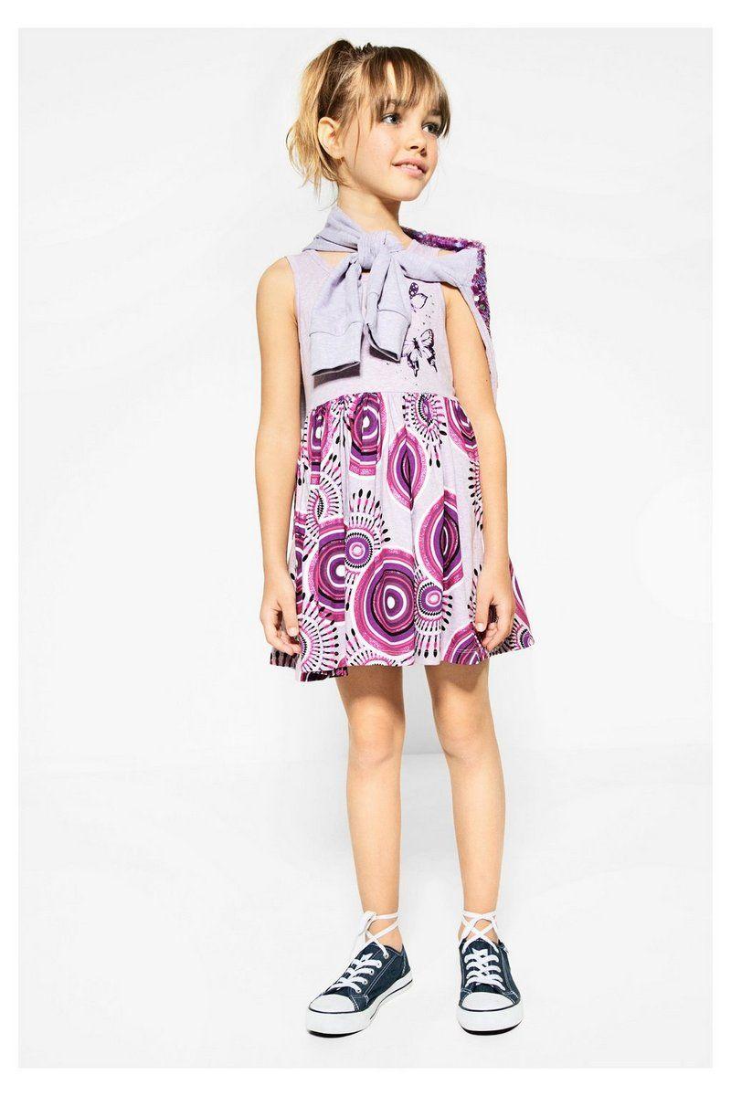 4b7b80d5793ac6 Desigual Girl Ärmelloses Mädchenkleid Harrisburg  Kindermode  Mädchen   Girls  Mädchenbekleidung  Kleid  Desigual