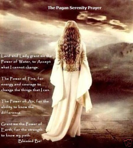 The Pagan Serenity Prayer