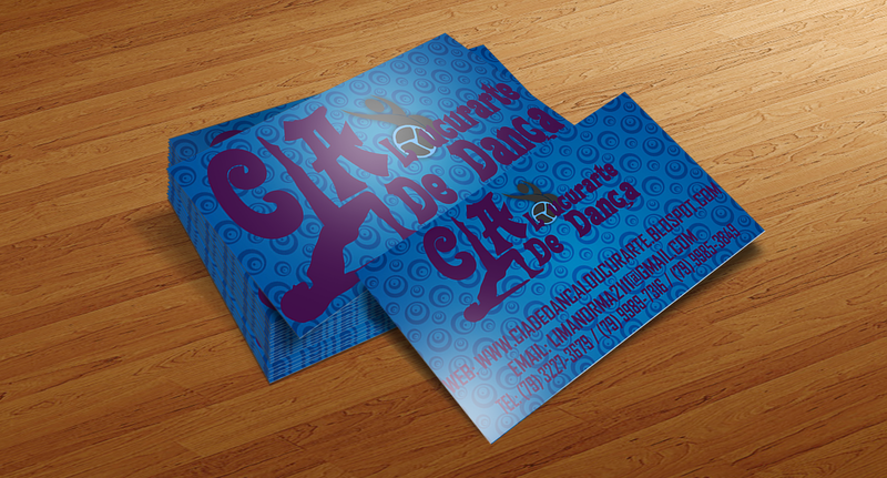 Cia De Dança Loucurarte - Cartão De Visitas