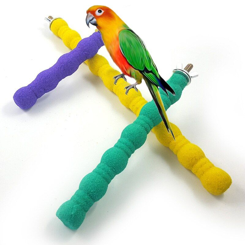 Pet Bird Toys Parrot Chew Grinding Claw Stand Perches Cage Cockatiel Parakeet Hanging Toy Cw In 2020 Bird Toys Pet Bird Parrot