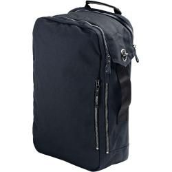 Photo of Qwstion Backpack (organic midnight blue) Rucksack blau aus 100 % Baumwolle QwstionQwstion