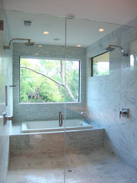 Tub Shower Combo Design Pictures Remodel Decor And Ideas Page 6 Bathroom Tub Shower Combo Bathroom Tub Shower Window In Shower