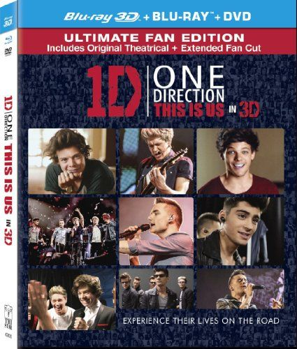 One Direction This Is Us 3d Two Disc Combo Blu Ray Dvd Ultraviolet Digital Copy This Is Us Movie Dvd Release Blu Ray Movies