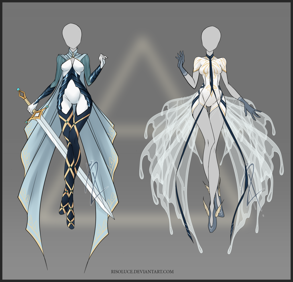 (CLOED) Adoptable Outfit Auction 27 By Risoluce.deviantart