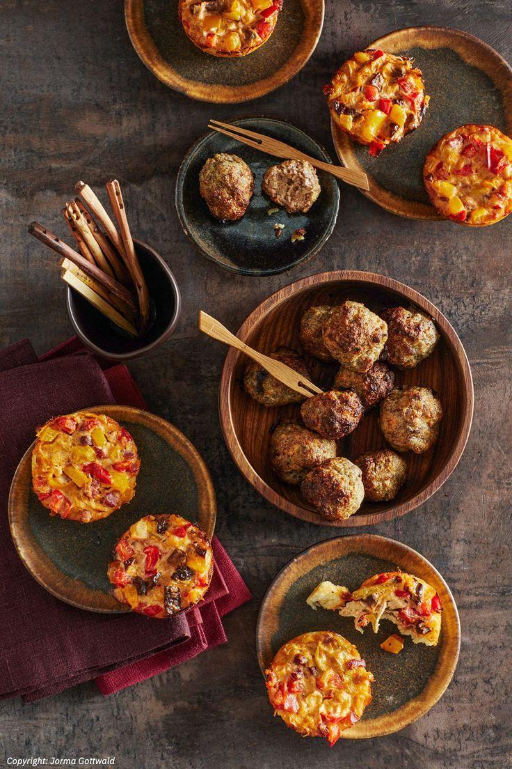 Mini-Party-Quiches von CookingJulie | Chefkoch | Rezept