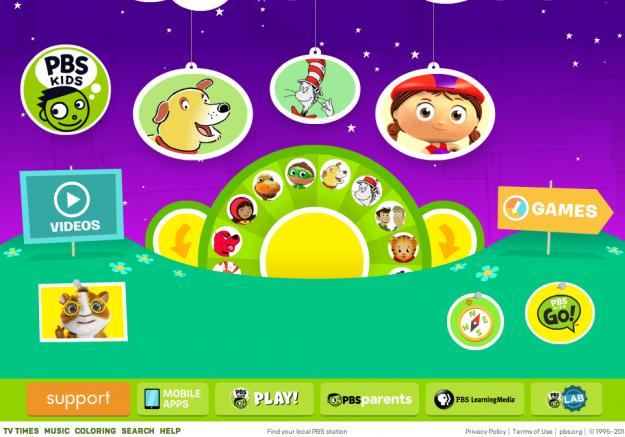 Best Websites for Kids Pbs kids games, Cool websites