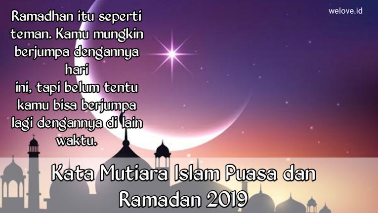 Kata Kata Mutiara Islam Bulan Ramadhan Dengan Gambar Mutiara
