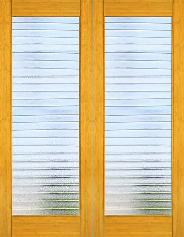 Bm 34 Interior Bamboo Contemporary Deco Bars Glass Double Door