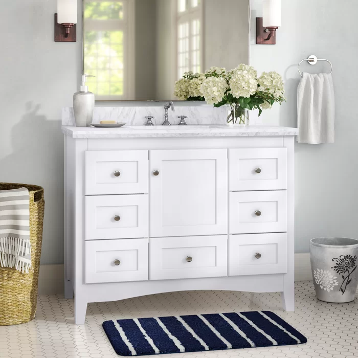 Charlton Home Farlend 42 Single Bathroom Vanity Set Reviews Wayfair In 2020 Bathroom Vanity Trends Single Bathroom Vanity Bathroom Vanity