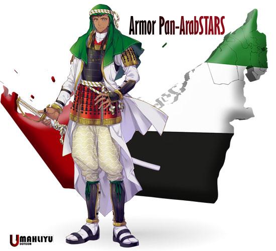 "Keren!!! Ada Indonesia di 30 ""Karakter Anime"" Negara"